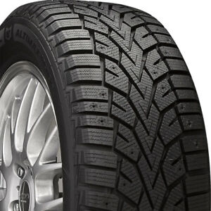 2 New 205 55 16 General Altimax Arctic 12 Studdable 55r R16 Tires 35924