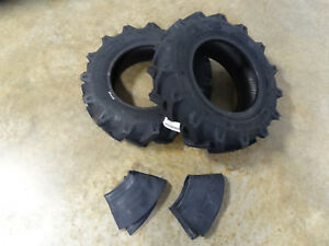 Two New 6 5 80 12 Starmaxx Tractor Tires Tubes Can Replace 7 12 Or 180 85d12