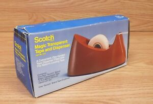 Genuine Scotch 34 7013 6883 8 Magic Transparent Tape And Dispenser read