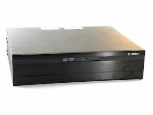 Bosch Db06c1012d2 6 Channel Dibos Dvr 120 Gb Hdd Cd rw W Aladdin Dongle As is