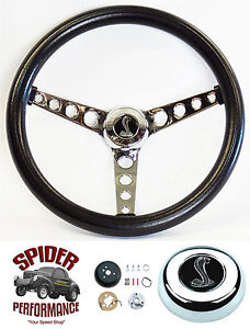 1965 1969 Mustang Steering Wheel Cobra 14 1 2 Classic Chrome