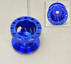 Blue Anodized 6 Bolt Racing Hub Adapter For Hyundai Accent 95 14 Genesis 09 14