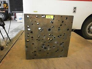 18 X 18 X 15 Surplus Right Angle Plate Fixture Workholding Steel 315