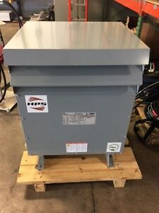75 Kva Hammond Sg3a0075ky Hps Sentinel G Distribution Transformer