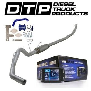 H S Mini Maxx 4 Exhaust Dpf Delete For Dodge Cummins Diesel 6 7 07 12 Egr