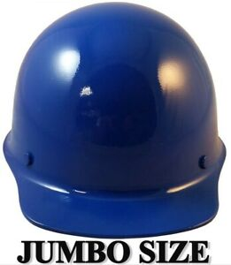 Msa Skullgard large Shell Cap Style Hard Hats With Staz On Suspension Blue