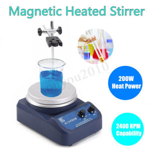Magnetic Stirrer With Hotplate Digital Mixer Heating Plate Control 220 110v 200w