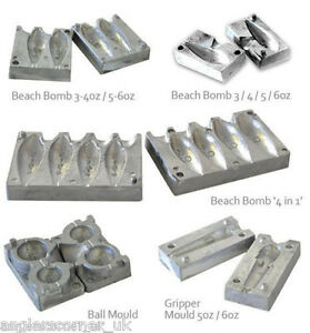 Storm Die Cast Moulds  Sea Fishing Lead Mould - Weight Making