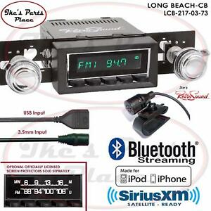 Retrosound Long Beach Cb Radio Bluetooth Ipod Usb 3 5mm Aux In 217 03 Gm Cars