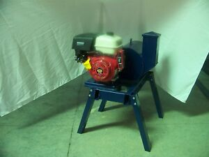 Beast Rock glass Crusher 27 Hammers 16 X 18 Drum Gas Engine 6 Feed