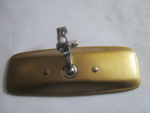 Vintage Car Mirror Rear View Mirror Rearview Mirror Mg A B Mga Mgb Golden