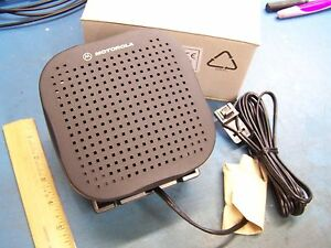 Motorola Cdm Speaker Hsn4039a Cdm1250 Cdm1550 Maxtrac Cm300 New In Box Tested