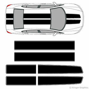 Honda Civic Accord Crz Ez Rally Racing Stripes 3m Vinyl Stripe Decals Graphics