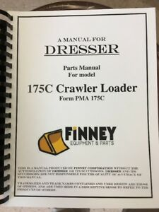Ih International 175c Crawler Track Loader Parts Manual S n 40740 And Above
