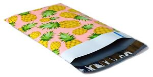 1000 6x9 Pink Yellow Pineapple smilemail Designer Poly Mailers Envelopes Bags