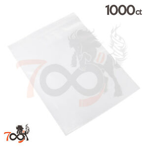1000 2 Mil 10x13 Owlpack Ziplock Fba Fda Clear Poly Plastic Product Storage Bags