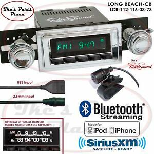 Retrosound Long Beach Cb Radio Bluetooth Ipod Usb 3 5mm Aux In 112 116 Skylark