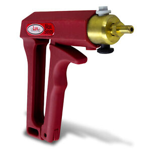 Vacuum Pump Handle Leluv Maxi Red With Safety Valve