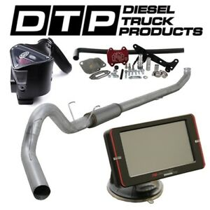 Raceme Ultra 5 Exhaust Dpf Delete For Dodge Cummins Diesel 6 7 07 17 Egr S