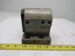 17464021100 2 Bore Cnc Turret Turning Lathe Quick Change Tool Holder Base Block