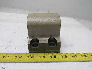 1 1 2 Bore Cnc Turning Lathe Turret Tool Holder Block Coolant Thru