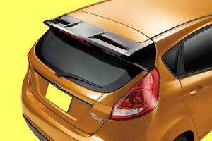Fits Ford Fiesta 5dr Factory Oe Style Spoiler Wing Painted Tuxedo Black Uh