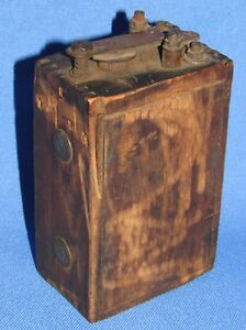 Antique Ford Model T Wooden Ignition Spark Coil
