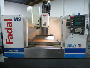 Fadal Vmc4020 Cnc Vertical Machining Center