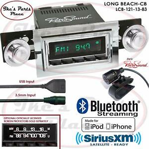 Retrosound Long Beach Cb Radio Bluetooth Ipod Usb 3 5mm Aux In 121 13 Cutlass