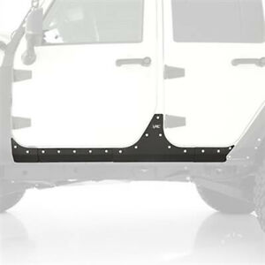 Xrc Armor Body Cladding Fits Jeep 07 17 Jeep Wrangler Jk 4 Door Smittybilt