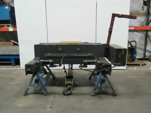 R m 12 5 Ton 25000 Lbs Top Runner Bridge Crane Hoist 26 2 lift 2 Speed Wire Rope