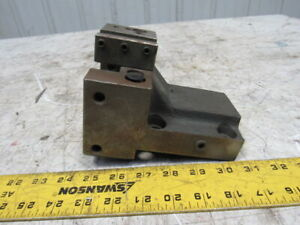2 Tool Post Turret Tool Holder Block 70mmx 80mm Hole Centers