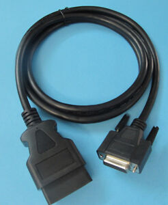 Obdii Obd2 Cable For Ottotest Diagnostics Iflash Scan Tool And J 2534 Programmer