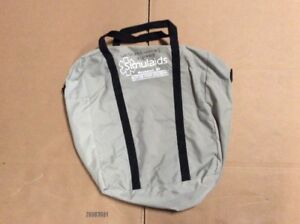 Simulaids Cpr Manikin Training Carrying Case Bag Silver Bag Only