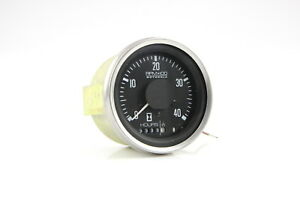 Tachometer 4000 Rpm 24 Volt Heavy Duty Motorola 24ht4a Alternator Tach hourmeter