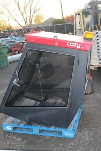 Cozy Cab Tractor Enclosure With Heater