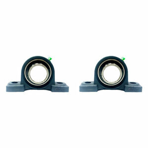 2x Ucp212 39 2 7 16 Pillow Block Bearing