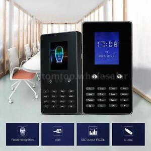 2 8 Face Password Recognition Recorder Attendance Machine Time Clock Checking