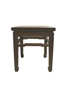 Asian Chinese Square Stool Low Table Stand 1711b