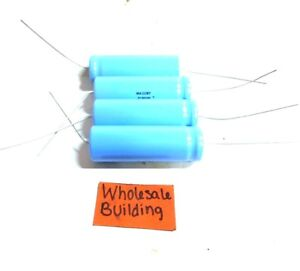 Mallory Capacitor Tc50100 1000 Uf 50 Vdc High Ripple Current Lot Of 4
