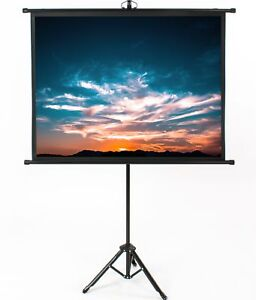 Vivo 50 Portable Projector Screen 4 3 Projection Pull Up Foldable Stand Tripod