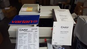 Varian Cary 3e Uv visible Spectrophotometer W manuals And Computer 9146 3t