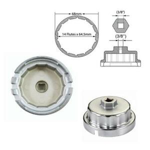 64mm Oil Filter Wrench Housing For Toyota 4 6 5 7l Tundra Sequoia Land Cruiser
