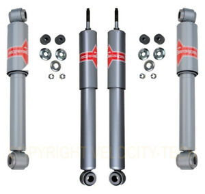 Kyb Gas a just Shocks Front Rear 86 95 Suzuki Samurai Full Set Of 4