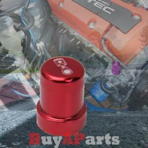 Red Billet Solenoid Cover For Honda Acura B17a1 B18c1 B16a2 D16y8 H22a1 Engine