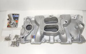 Edelbrock Small Block Chevy 2101 Performer Intake Manifold 283 305 327 350 Exc
