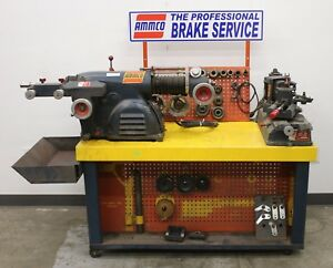 Ammco 4000 Drum Disc Brake Lathe And 890 Shoe Grinder Combo Service Center