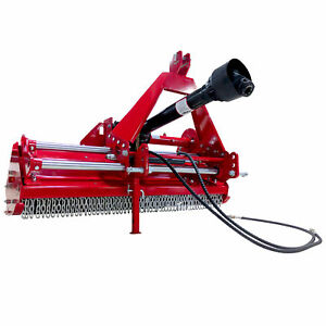 Titan 48 3 point Flail Mower With Hydraulic Side Shift