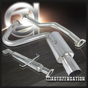 05 10 Scion Tc Chrome Ss N1 Catback Exhaust Muffler System Kit