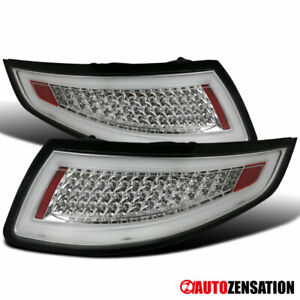 Chrome Led Tail Lights For Porsche 911 997 Carrera Targa Gt3 Gt2 Turbo 2005 2008